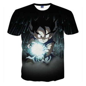 Men's Summer T-shirts 3D Kid Goku
