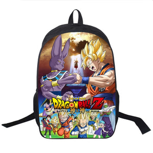 Dragon Ball Z Goku & Beerus Backpack