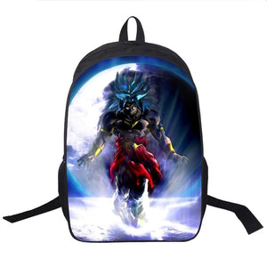 Dragon Ball Z Broly Backpack 2019