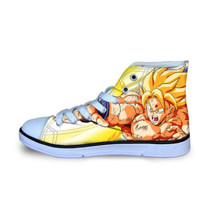 Super Saiyan Goku Converse Shoes