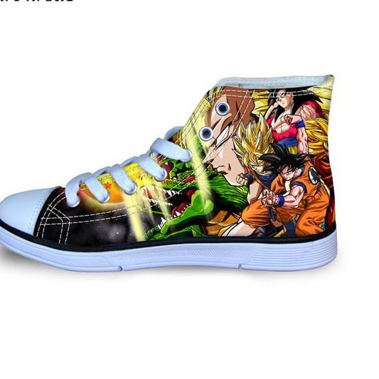 Type of Goku Converse Shoes