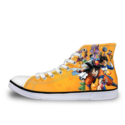 Dragon Ball Z Canvas Shoes for Men Boy