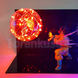 Son Goku vs Vegeta Fighting Flash Ball -2