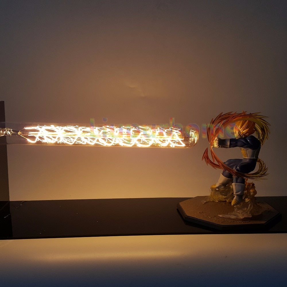 Final Flash Vegeta Super Saiyan Led Light Lamp