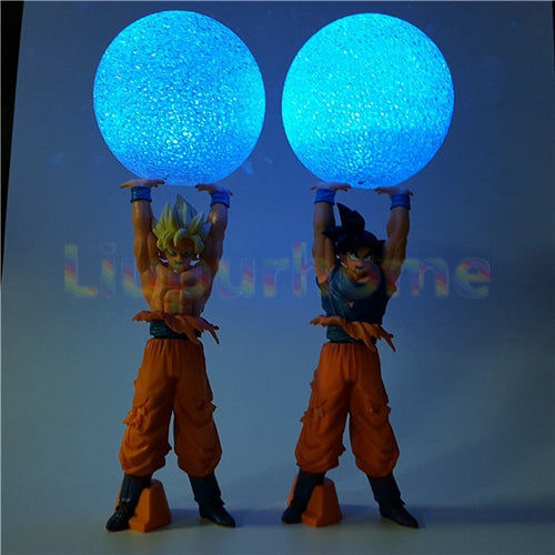 Super Saiyan Goku Spirit Bomb LED