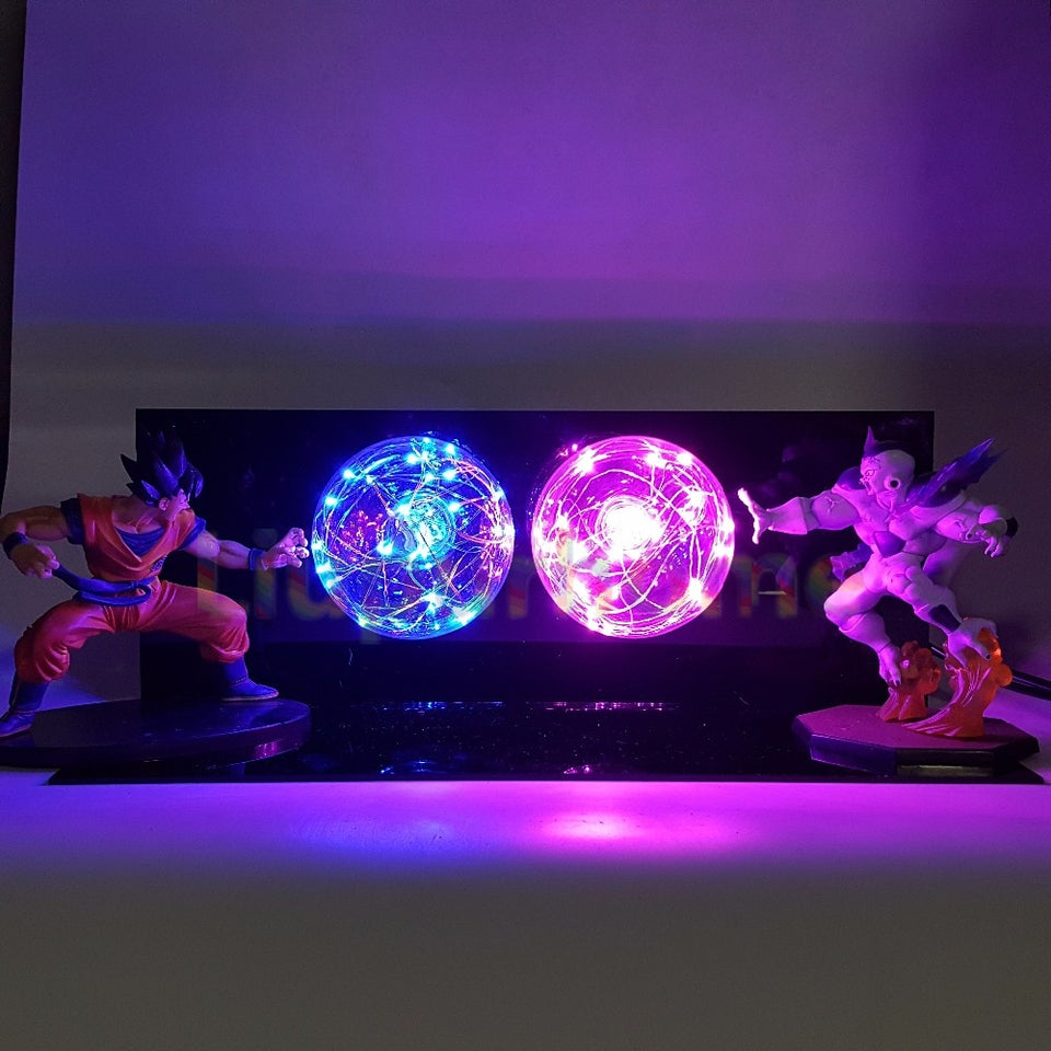 Son Goku VS Freeza LED Night Lights
