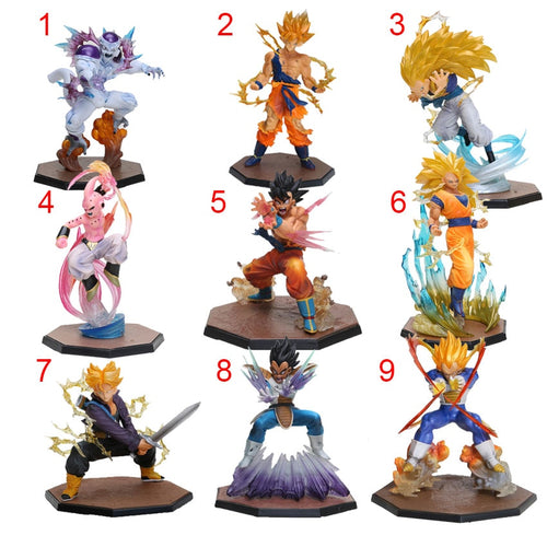 Dragon Ball Z Action Figures Model Toy 2019