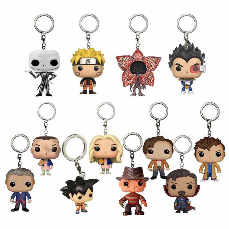 Dragon Ball Action Figure Anime Gift Toy Keychain