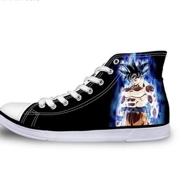 Son Goku Ultra Instinct Canvas Shoes