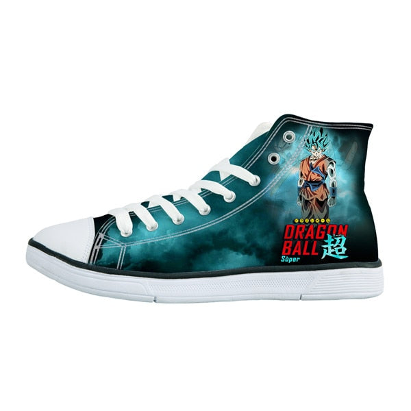 Dragon Ball Z Goku Blue Shoes