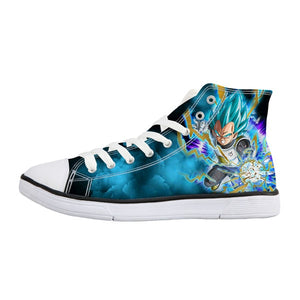 Vegeta Blue Shoes - DBZ Converse Shoes