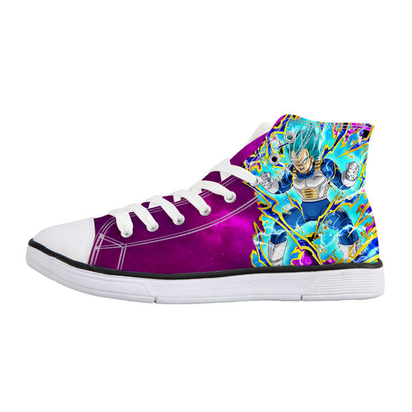 Vegeta Blue Converse Shoes
