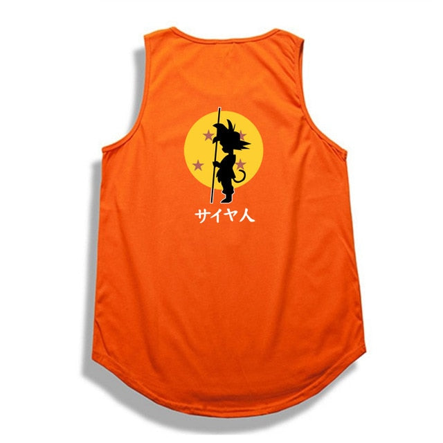 Dragon Ball Z tank top Hip Hop -4