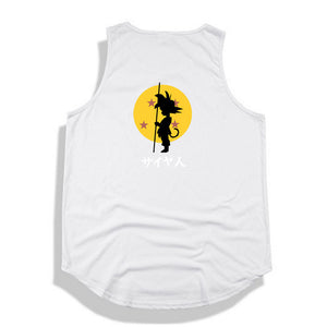 Dragon Ball Z tank top Hip Hop -9