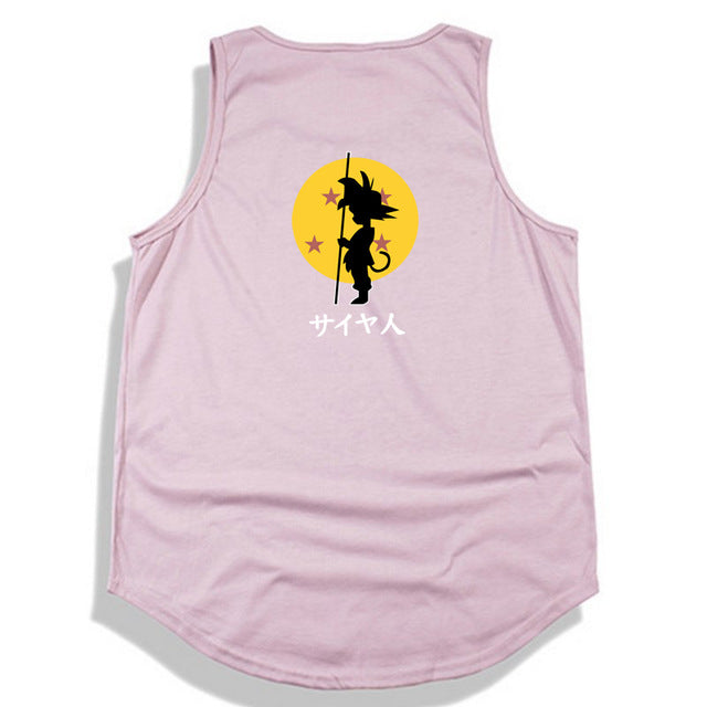 Dragon Ball Z tank top Hip Hop -6