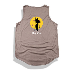 Dragon Ball Z tank top Hip Hop -1