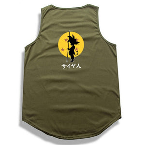 Dragon Ball Z tank top Hip Hop -3