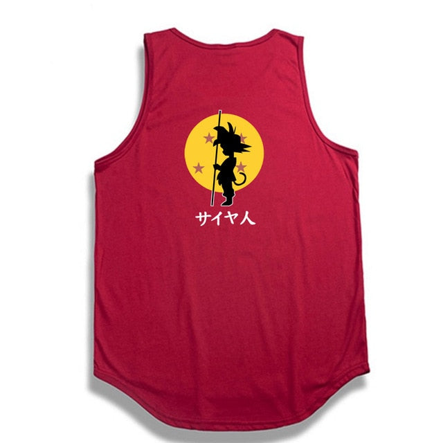 Dragon Ball Z tank top Hip Hop -5
