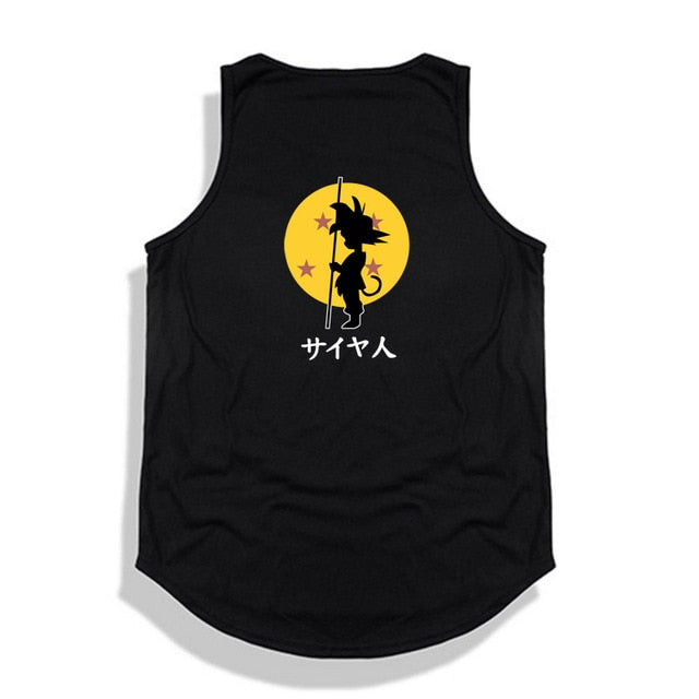 Dragon Ball Z tank top Hip Hop -8