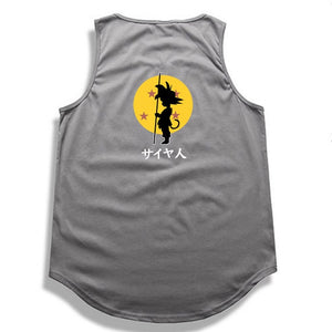 Dragon Ball Z tank top Hip Hop -7