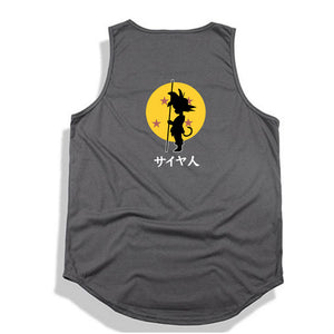 Dragon Ball Z tank top Hip Hop -2