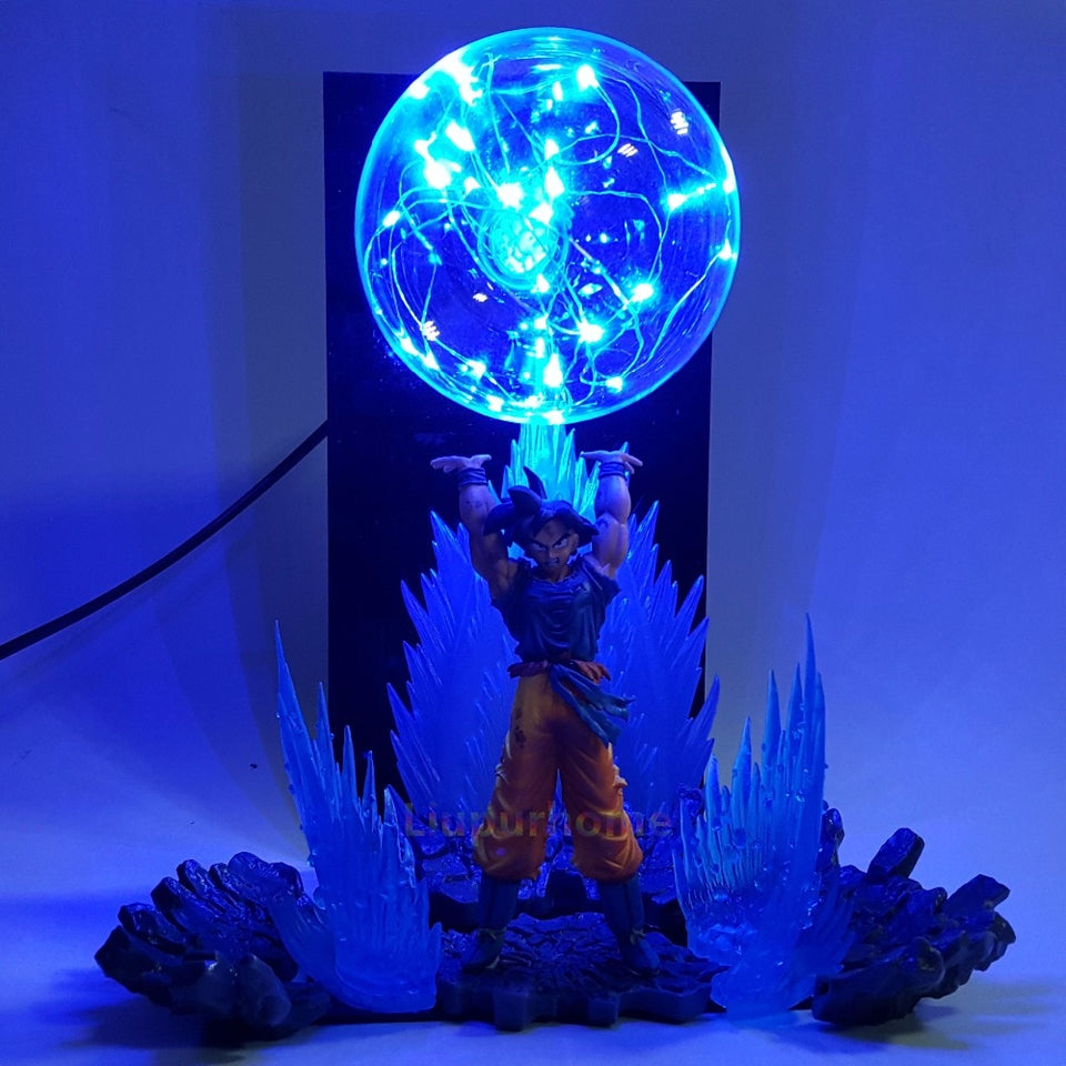 Son Goku Spirit Bomb Led Effect Night Lights