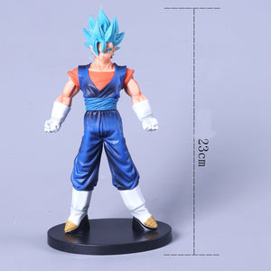 Super Saiyan Goku Blue Action Figures