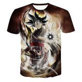 Dragon Ball Z  T-shirts 3D Black Goku