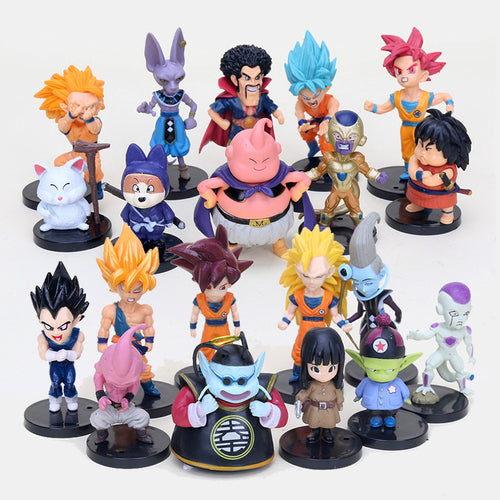 20pcs/set Dragon Ball Z PVC Action Figures