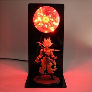Goku Action Figures DIY Lamp