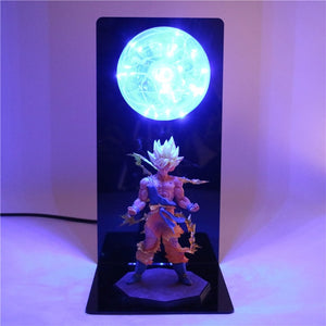 Goku Action Figures DIY Lamp -7