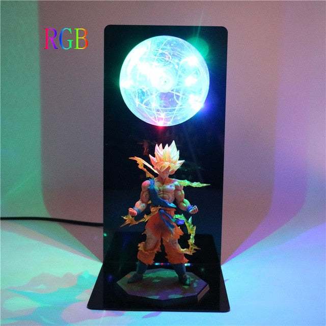 Goku Action Figures DIY Lamp -8