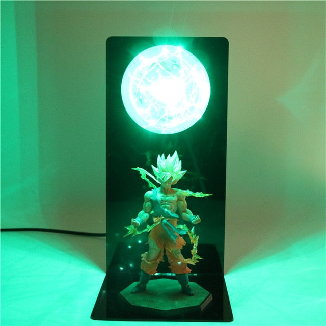 Goku Action Figures DIY Lamp -2