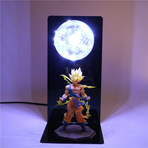 Goku Action Figures DIY Lamp -4