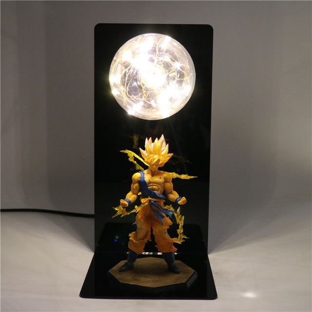 Goku Action Figures DIY Lamp -1
