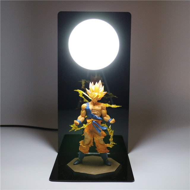 Goku Action Figures DIY Lamp -5