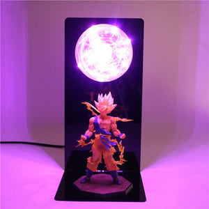 Goku Action Figures DIY Lamp -3