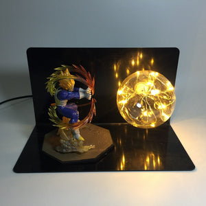 Vegeta Super Saiyan Table Lamp Spirit Bomb