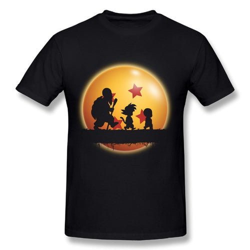 Dragon Ball T-shirt Master Roshi Goku Krillin