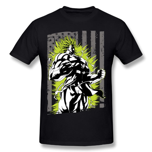 Super Saiyan Legend Broly Black T-Shirt