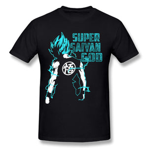 Super Saiyan God T-Shirts Streetwear