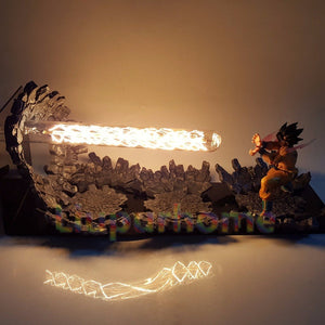 Son Goku Led Light Lamp Kamehameha -2