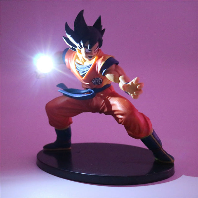 Son Goku Action Figures Led Decor Lamp -3