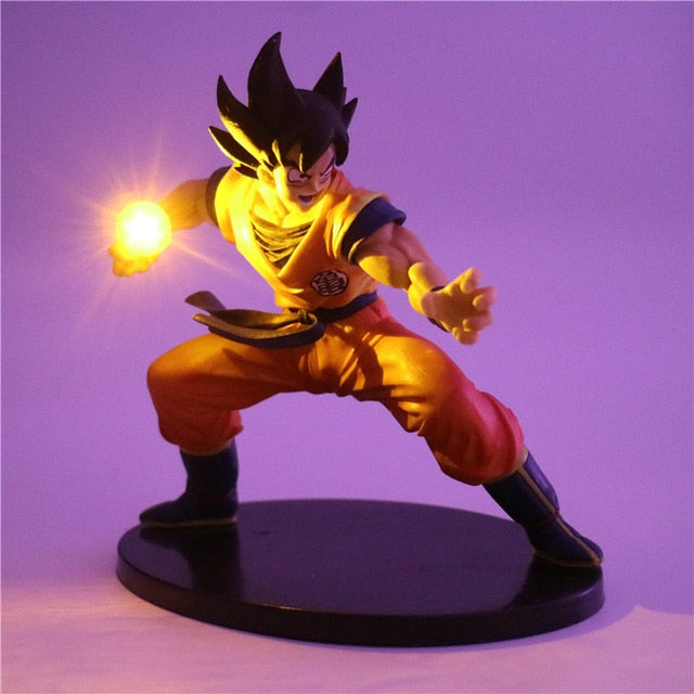 Son Goku Action Figures Led Decor Lamp -4