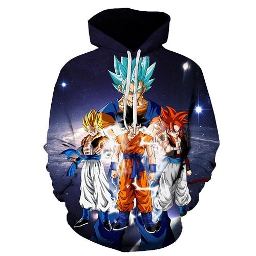 New Type of Son GoKu Hoodie