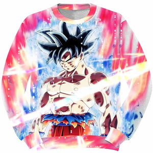 DBZ 3D Sweatshirts Men Goku Ultra Instinct