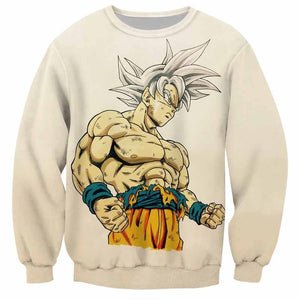 DBZ 3D Sweater Goku Ultra Instinct
