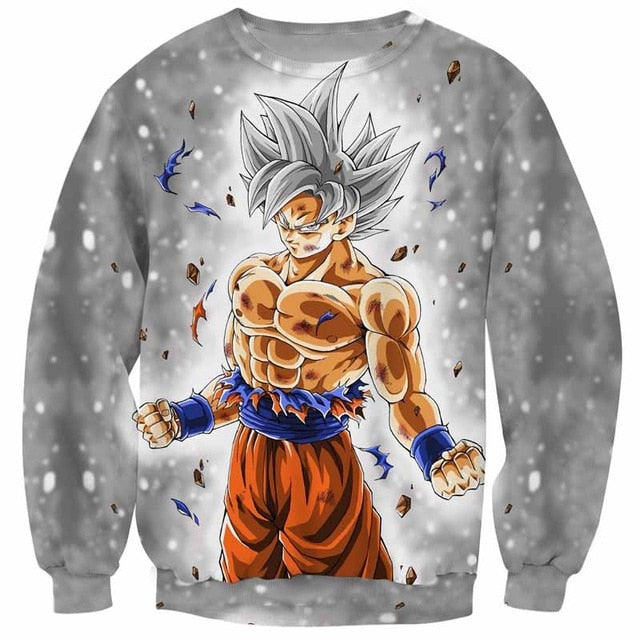 Sweater Goku Ultra Instinct