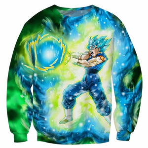 DBZ 3D Sweatshirts Men Vegito