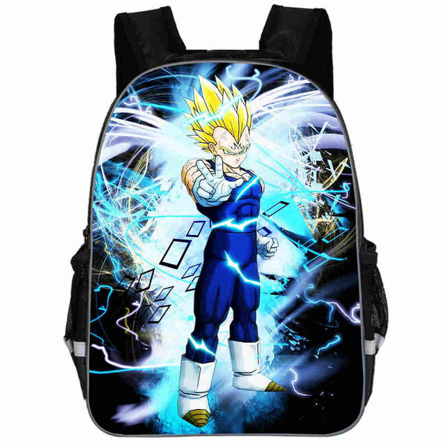 Dragon Ball Super Saiyan Vegeta Backpack
